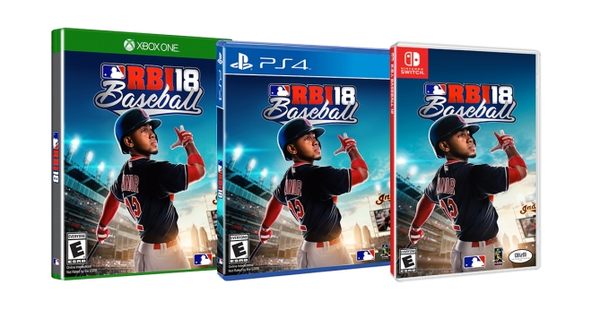 RBI Baseball 18 Cover