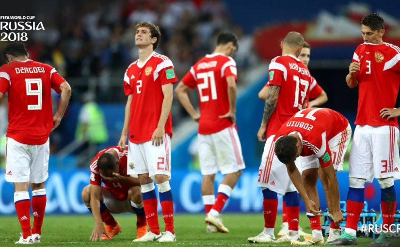 World Cupdate: Russia's Fairytale Comes to an End
