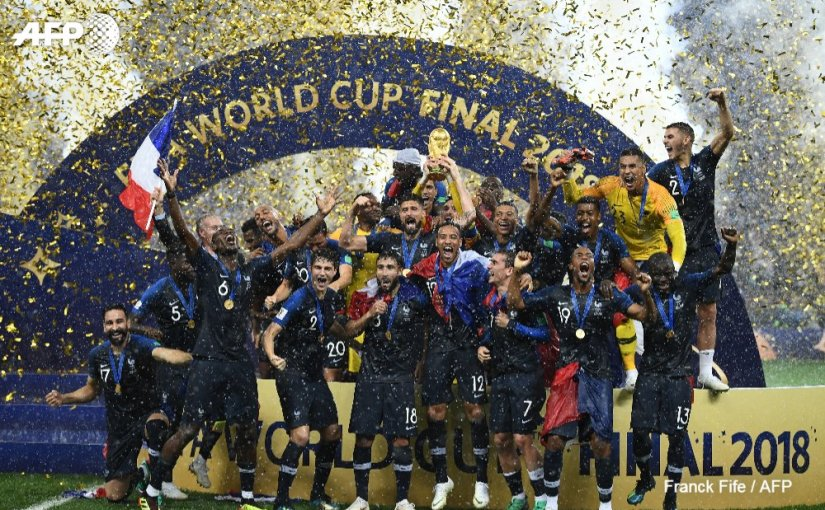 World Cupdate: Allez Les Blues; France Wins World Cup