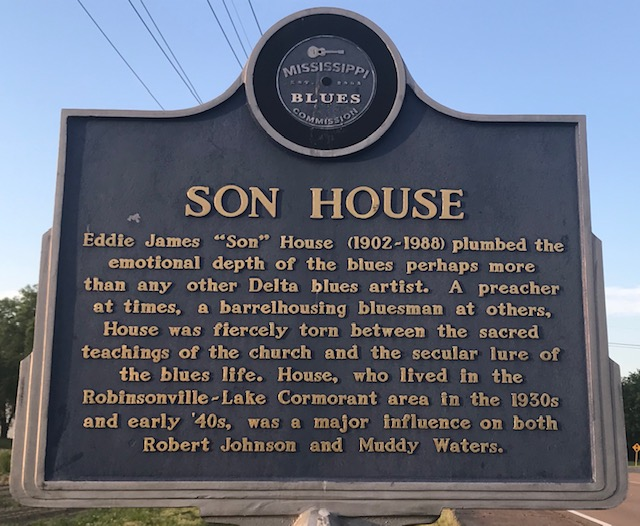 Son House Mississippi Blues Trail